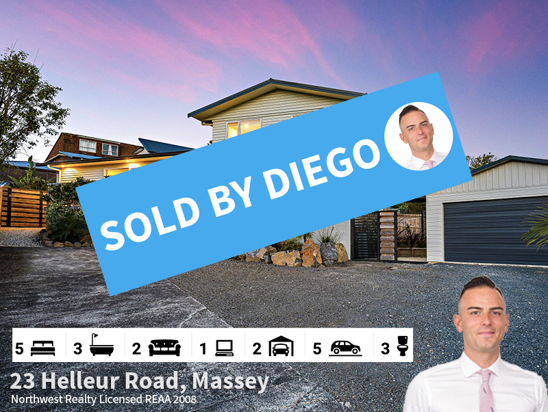 23 Helleur Road, Massey SOLD by Diego