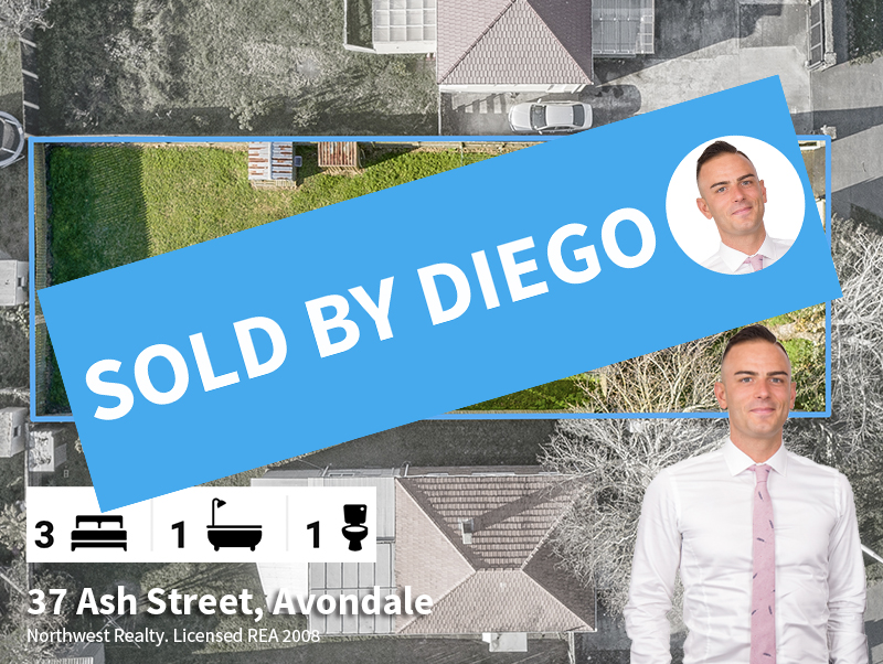 37 Ash Street, SOLD by Diego