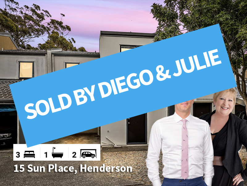 15 Sun Place, Henderson SOLD by Diego &