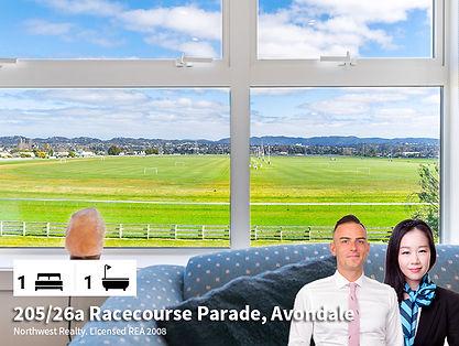 205-26a Racecourse Parade, Avondale by D