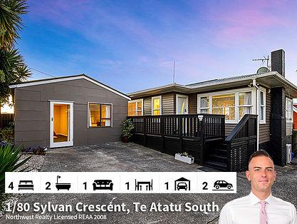 1-80 Sylvan Crescent, Te Atatu South by