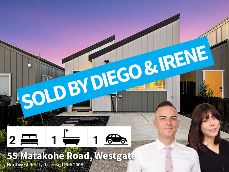 55 Matakohe Road, Westgate SOLD by Diego