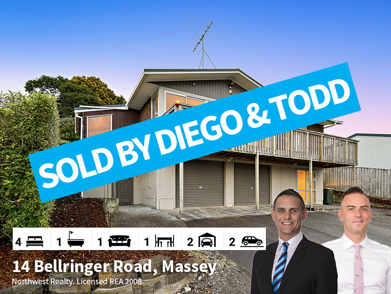 14 Bellringer Road, Massey SOLD by Tood