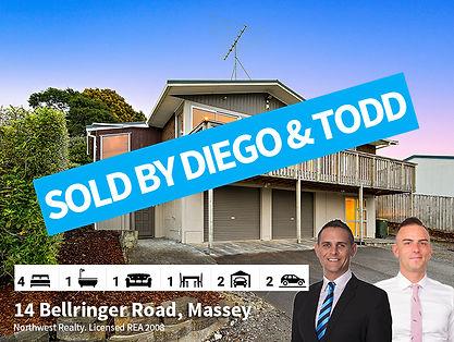 14 Bellringer Road, Massey SOLD by Tood