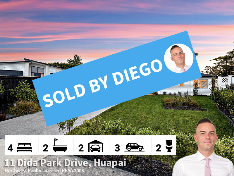 11 Dida Park Drive, Huapai SOLD by Diego