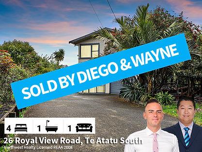 26 Royal View Road, Te Atatu South SOLD