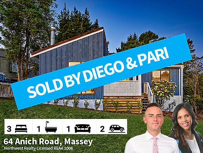 64 Anich Road, Massey SOLD by Diego & Pa
