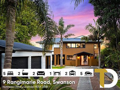 9 Rangimarie Road, Swanson by Diego Trag