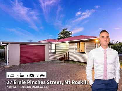 27 Ernie Pinches Street, Mt Roskill by D