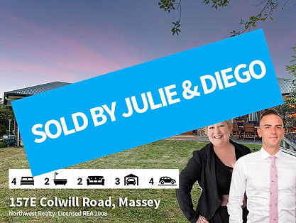 157e Colwill Road SOLD By Julie Couper &