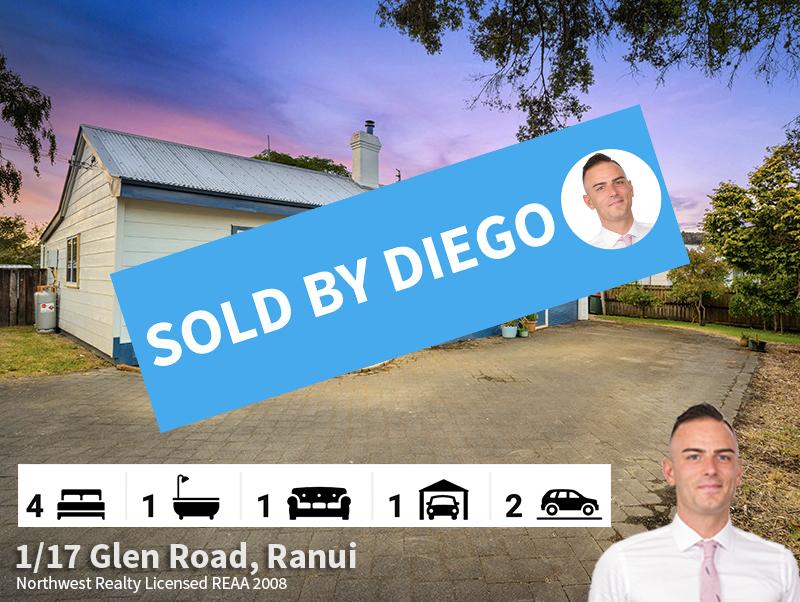 1-17 Glen Road, Ranui SOLD by Diego Trag