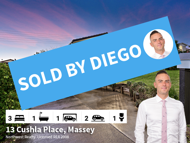 13 Cushla Place, Sold by Diego Traglia
