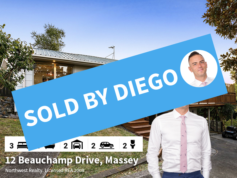 12 Beauchamp Drive, Massey SOLD