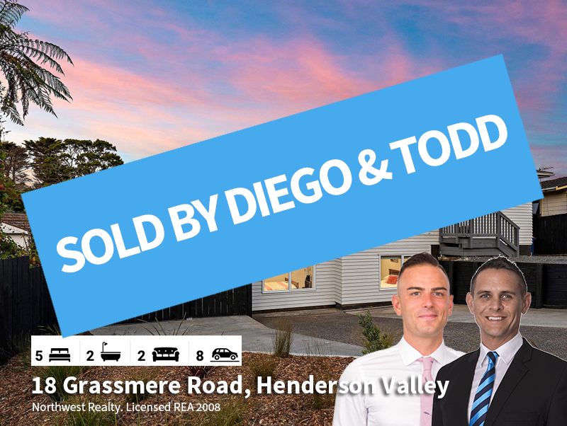 18 Grassmere Road, Henderson Valley SOLD
