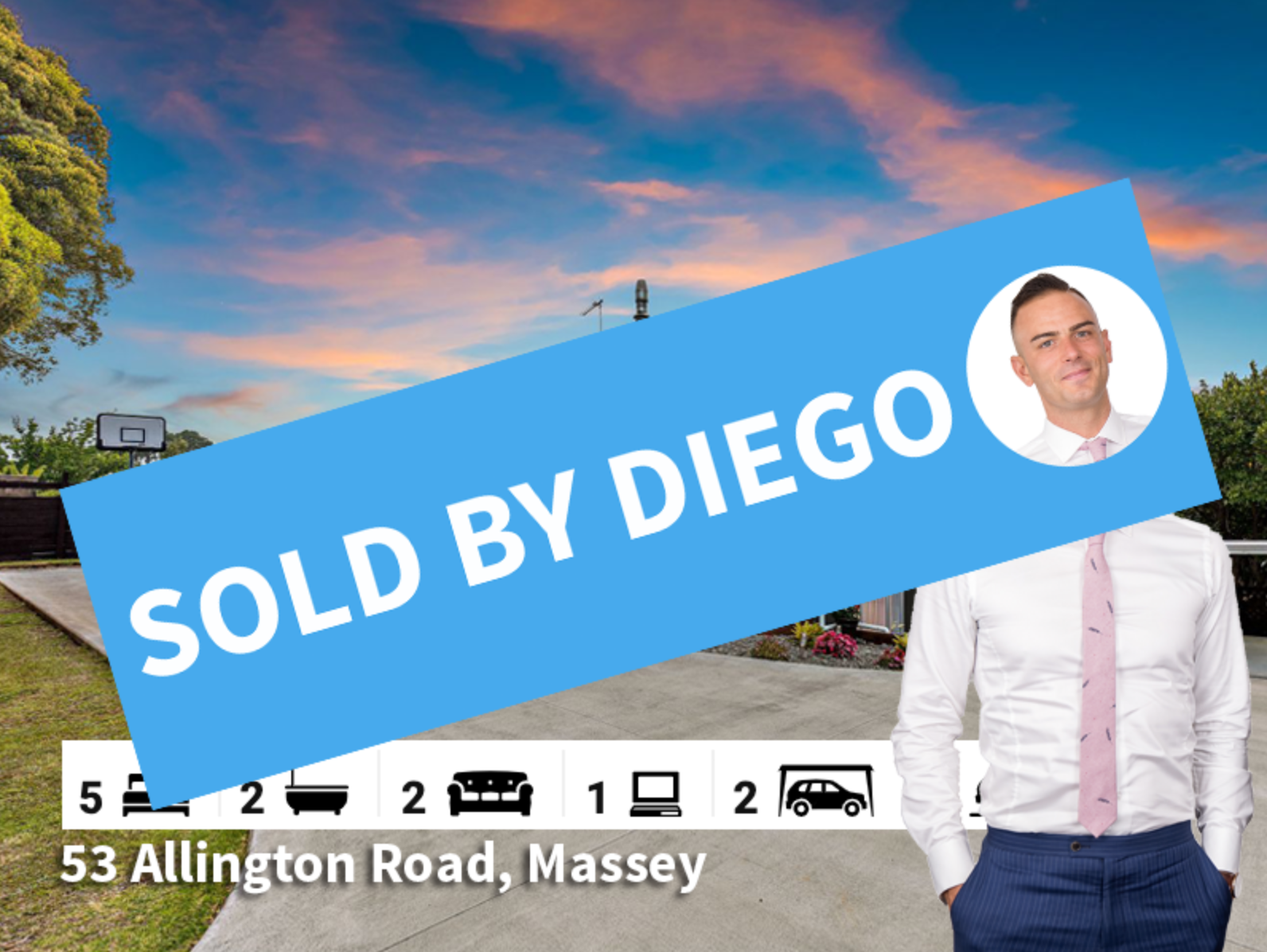 53 Allington Road Massey SOLD by Diego T
