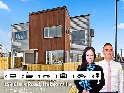 159 Clark Road, Hobsonville SOLD by Dieg