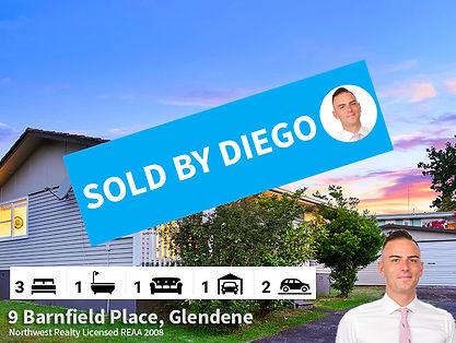 9 Barnfield Place, Glendene SOLD by Dieg