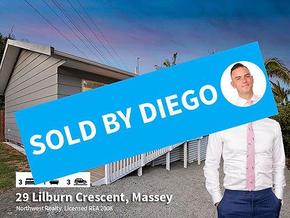 29 Lilburn Crescent, Massey SOLD by Dieg