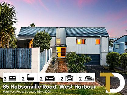 85 Hobsonville Road, West Harbour by Die