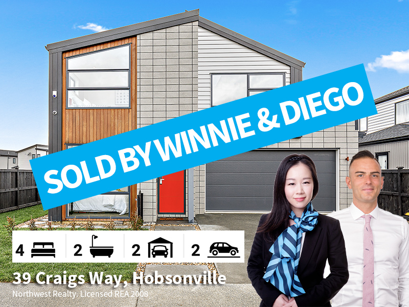 39 Craigs Way, SOLD by Winnie & Diego
