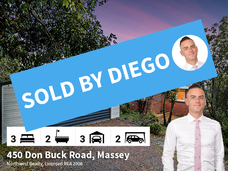450 Don Buck Road SOLD By Diego Traglia.