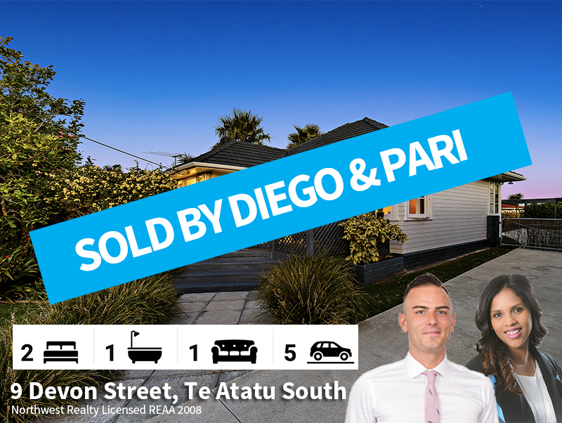 9 Devon Street, Te Atatu South SOLD by D