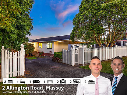 2 Allington Road, Massey by Diego & Todd