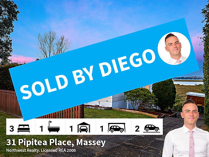 31 Pipitea Place, Massey SOLD by Diego T