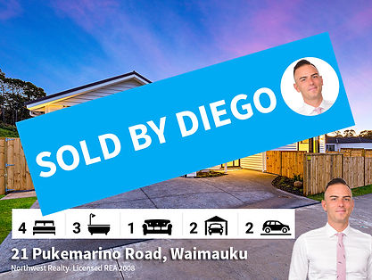 21 Pukemarino Road, Waimauku SOLD by Die
