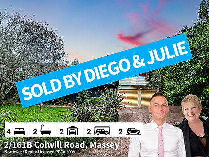 2-161B Colwill Road, Massey SOLD By Dieg