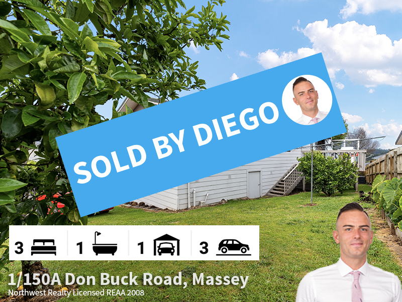 1-150A Don Buck Road, Massey SOLD by Die
