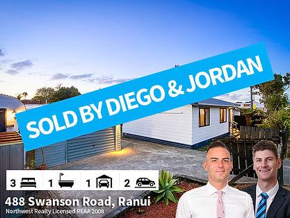 488 Swanson Road SOLD By Diego & Jordan.