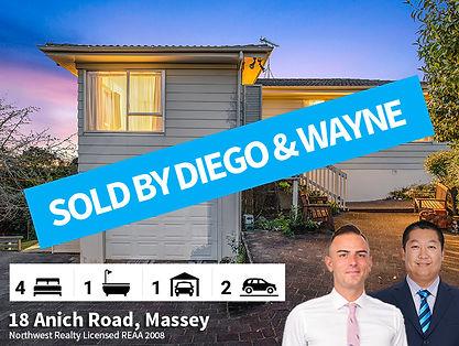 18 Anich Road, Massey SOLD by Diego & Wa
