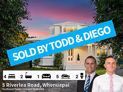 5 Riverlea Road, Whenuapai SOLD by Todd