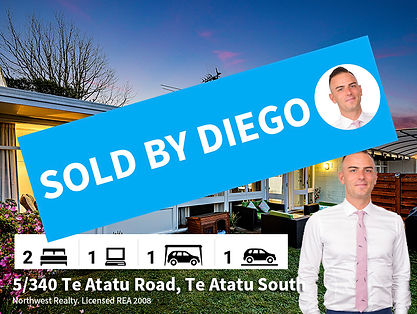 5-340 Te Atatu Road SOLD, by Diego Tragl