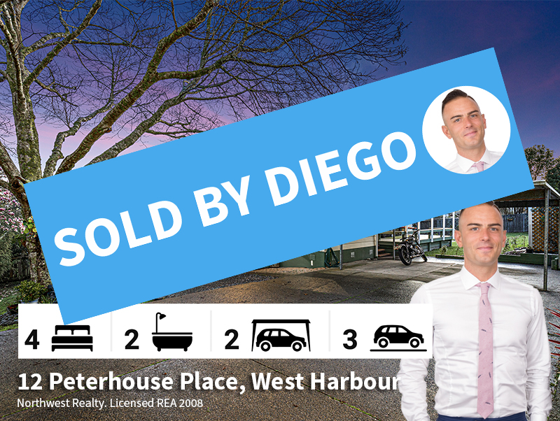 12 Peterhouse Place, SOLD by Diego