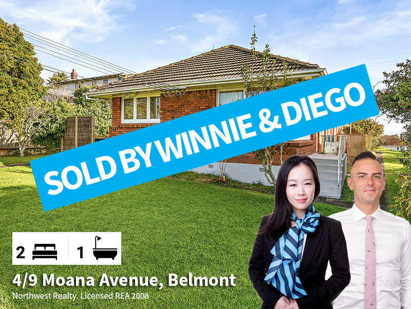 4-9 Moana Ave, SOLD by Winnie & Diego