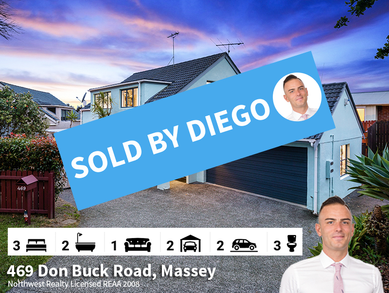 469 Don Buck Road, Massey SOLD by Diego