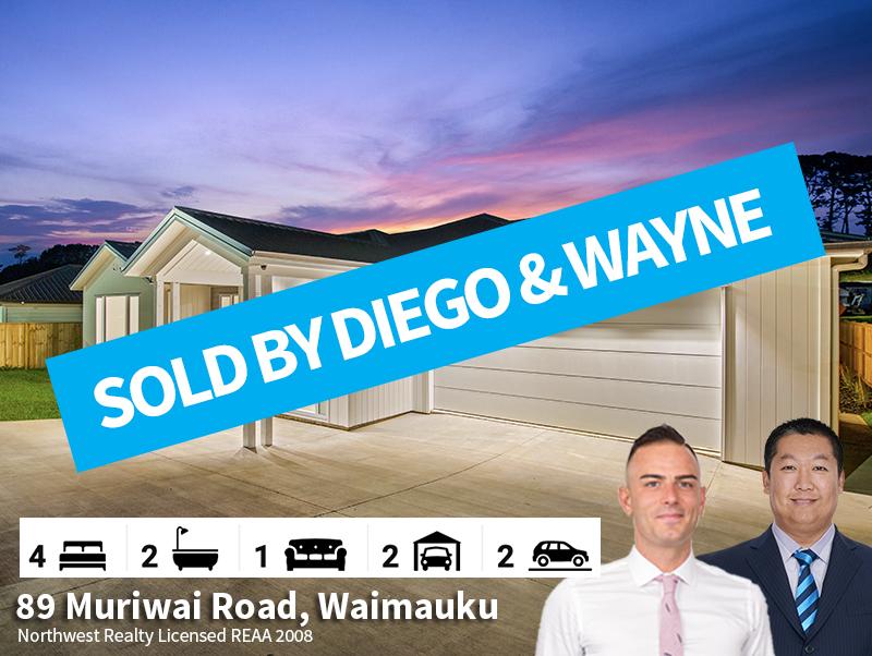 89 Muriwai Road, Waimauku SOLD by Diego
