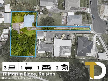 17 Martin Place, Kelston by Diego & Pari
