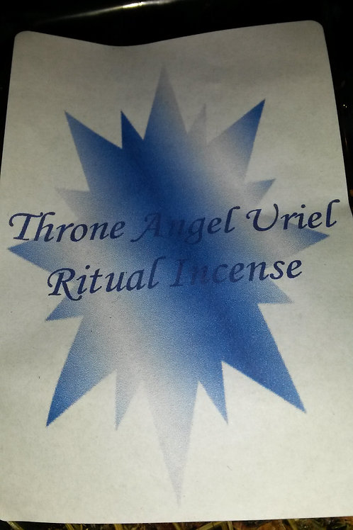 Throne Angel Uriel Ritual Incense
