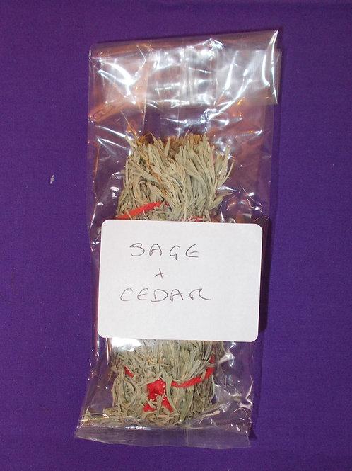 Smudgestick- Sage + Cedar