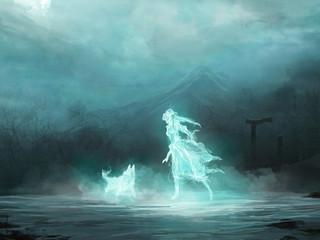 Разница между призраком и духом