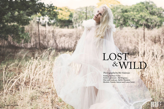 Nir Slakman Fashion Photographer Tel aviv - HUF magazine