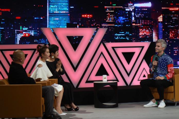 """Debuting """"Chinese Girl"""" at Beijing TV"""