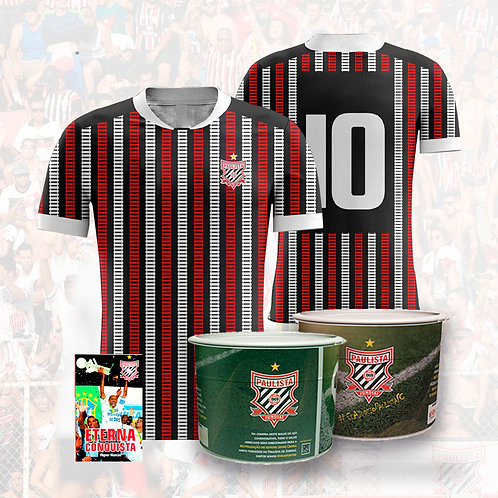 Kit Comemorativo Camisa Oficial 2021