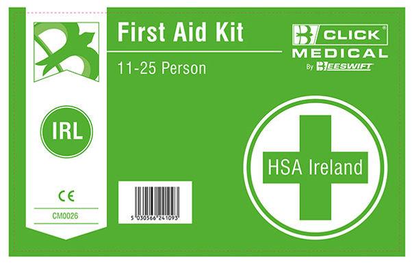 11-25 HSA IRISH 1ST AID KIT LAB WITH EYEWASH