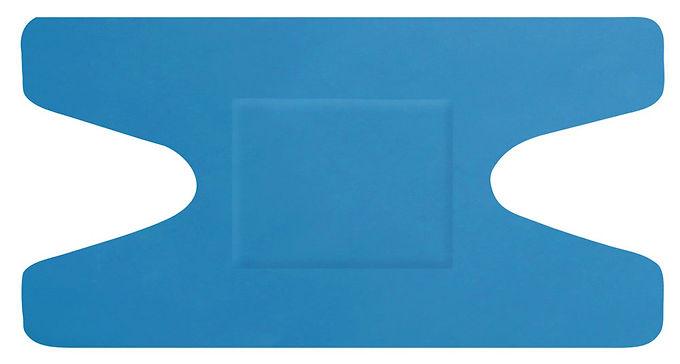 HYGIO PLAST BLUE DETECTABLE PLASTERS KNUCKLE