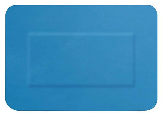 HYGIO PLAST BLUE DETECTABLE PLASTERS LARGE PATCH
