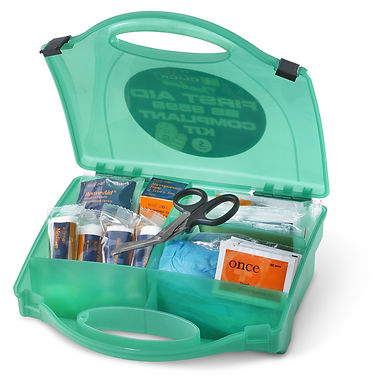 CLICK MEDICAL SMALL BS8599 FIRST AID KIT
